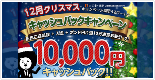 ヒロセ通商 口座開設キャンペーンは何と最大71万円!?