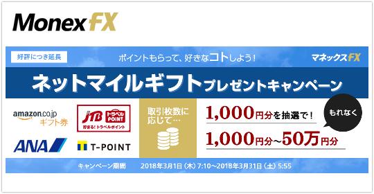 ネットマイルギフト・プレゼントキャンペーン!