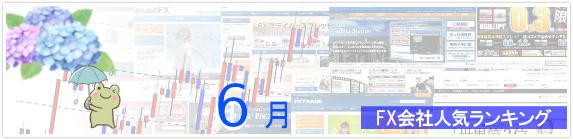 FX会社人気ランキング 2019年6月版